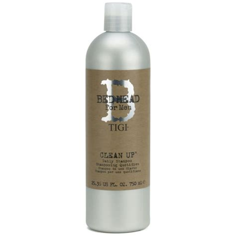 tigi bed head for men clean up daily shoo 750ml
