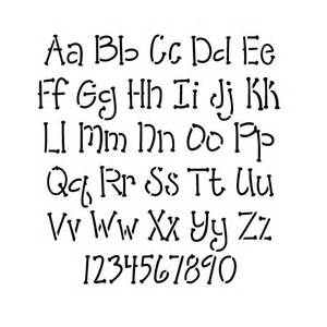 Stencil Lettering Templates by Stencils Alphabet Stencils Whimsical Lettering
