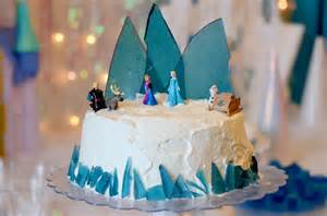 Disney frozen cake ice cream cake