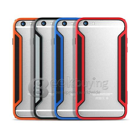Nillkin Border Frame Bumper For Iphone 6 Plus Blue nillkin frame series protective cover pc tpu for iphone 6 plus