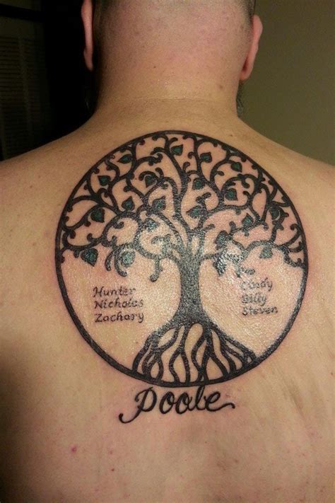 family tattoo ideas for guys family tree this tree tattoos