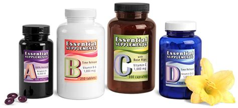 supplement containers sks bottle packaging nutritional supplement containers