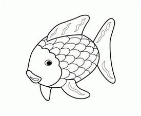 colorize black and white printable 17 rainbow fish coloring pages 5144 rainbow
