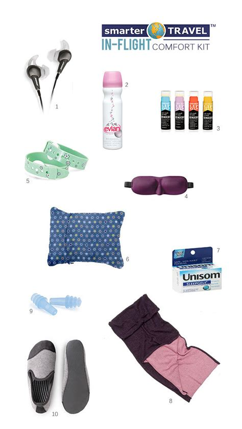 comfort on long flights 10 cozy must haves for coach class flights smartertravel