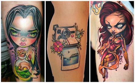 new school virgo tattoo tatuajes new school estilo y dise 241 os de los tatuajes modernos