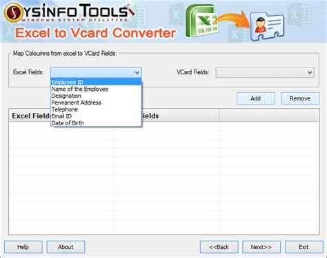 format vcard excel excel to vcard software converts xls xlsx contact to vcf