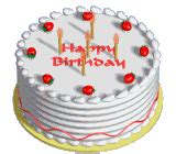 Animated birthday cake gifs images amp pictures becuo
