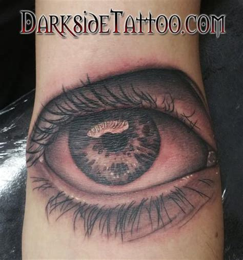black and grey eye tattoo sean o hara tattoonow