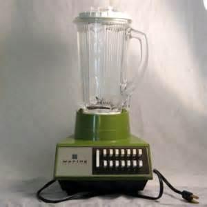 retro blender vintage waring solid state blender 14 speed retro avocado