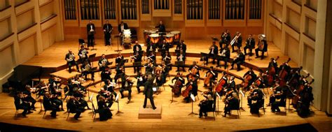 how many sections does a symphonic orchestra have types of ensembles the classical novice