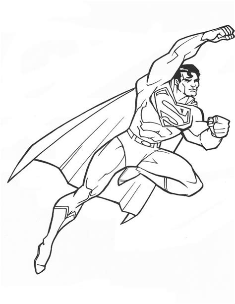 super homem emblem colouring pages