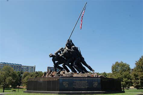 iwo jima memorial washington dc map washington dc usmc iwo jima war memorial a photo on