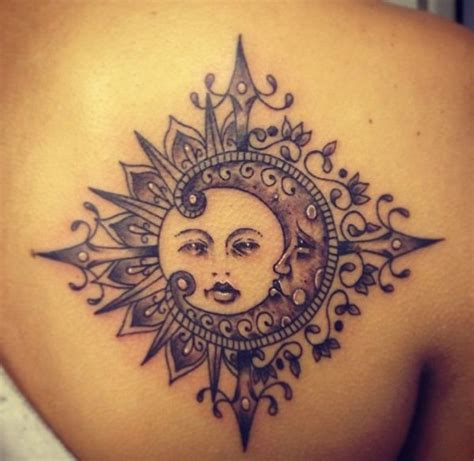 half moon half sun tattoo 90 wonderful moon tattoos