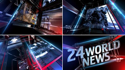 after effects news intro template news intro 3d object after effects templates f5