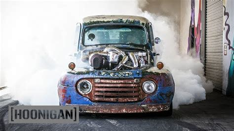 hoonigan truck hoonigan dt 075 1200hp turbo diesel burnouts