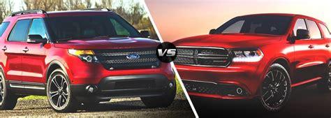 large jeep dealerships the dodge durango vs the ford explorer dodge dealerships