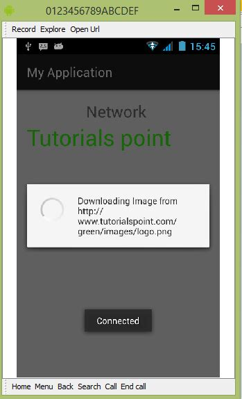 tutorialspoint internet android network connection tutorial