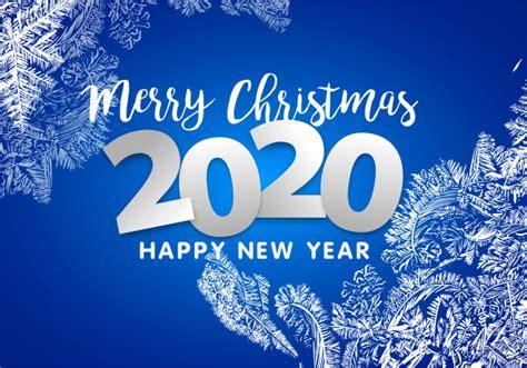 merry christmas  happy  year  snowflakes decoration vector premium