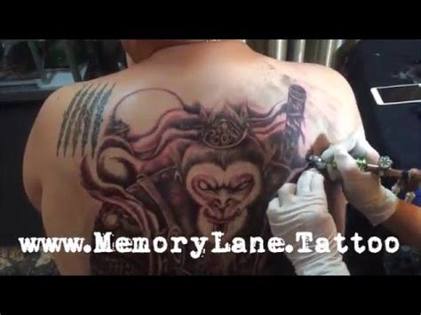 xiaxue tattoo back lion city tattoo in the chair with nicckuhori doovi