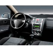 Desktop Wallpaper Vehicles Cars Hyundai Getz Interior 2006