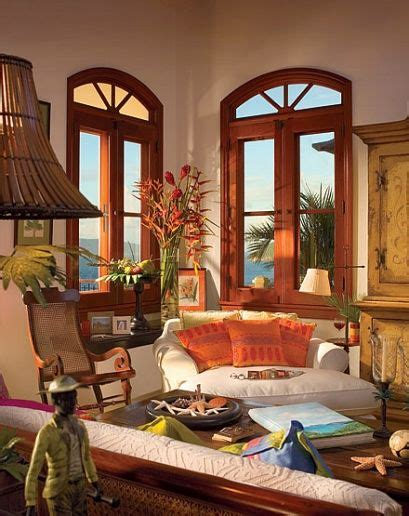 how to achieve a tropical style window west indies and british on pinterest