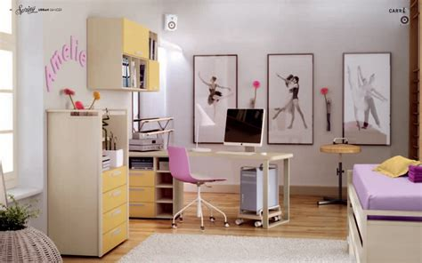 Dance Bedroom | themed teen rooms for artist dancer rockstar and