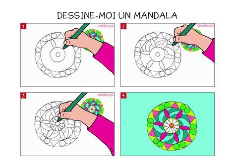 Apprendre 224 Dessiner Un Mandala En 3 233 Tapes