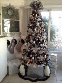 25 unique black christmas trees ideas on pinterest