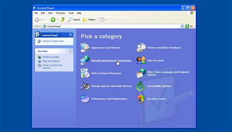 xp tutorial point windows xp pptp vpn setup tutorial