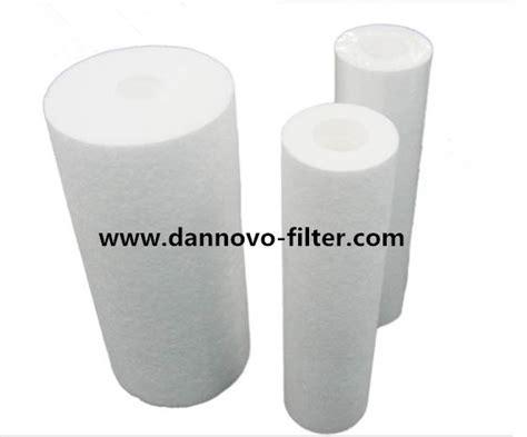 Pp Sedimen Spun Cartridge Water Filter Nanofilter 20 Inch 10 inch 5 micron polypropylene pp sediment melt blown water filter cartridge