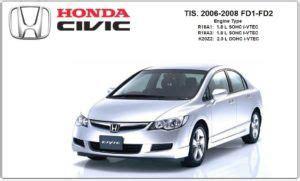 car service manuals pdf 2006 honda civic si auto manual honda civic 2006 2008 factory service repair manual pdf download
