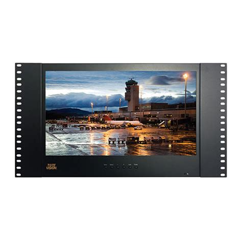Monitor Vision 15 tote vision led 1562hdr 15 6 quot rackmount lcd led 1562hdr b h