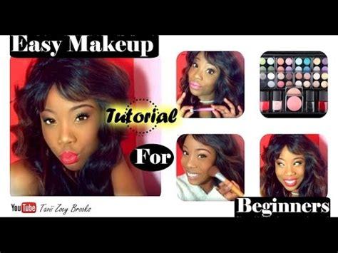 tutorial makeup zoey easy makeup tutorial for beginners tavii zoey brooks