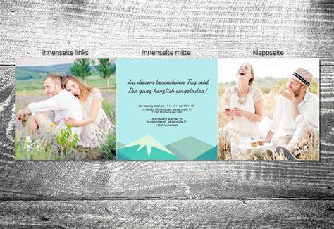Hochzeitseinladung 6 Seitig by Hochzeit Berge 6 Seitig Ab 1 90 Kartlerei