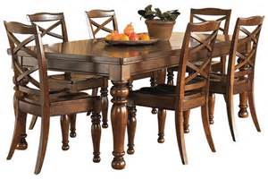 Ashley Furniture Kitchen Tables Ashley Furniture Porter Dining Table Kitchen And
