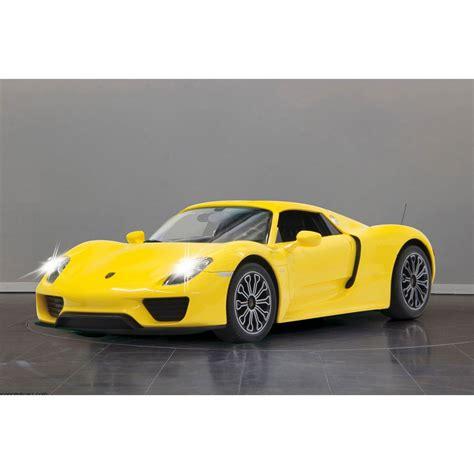 Porsche 918 Kaufen by Jamara Porsche 918 Spyder 1 14 40mhz Gelb Spielzeug
