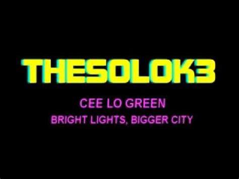 bright lights bigger city mashpedia free encyclopedia