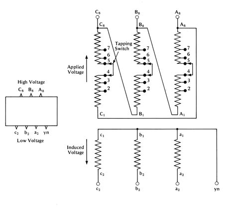 transformer wiring diagrams single phase wiring free
