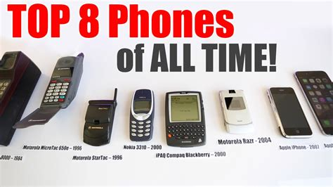 best of all time best phones top 8 best phones of all time