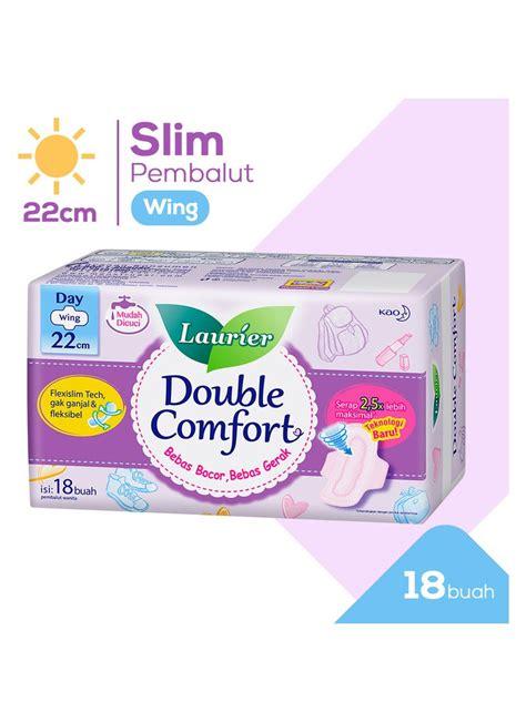Softex Comfort Slim 36cm 6 laurier pembalut wanita comfort wing 18 s pck