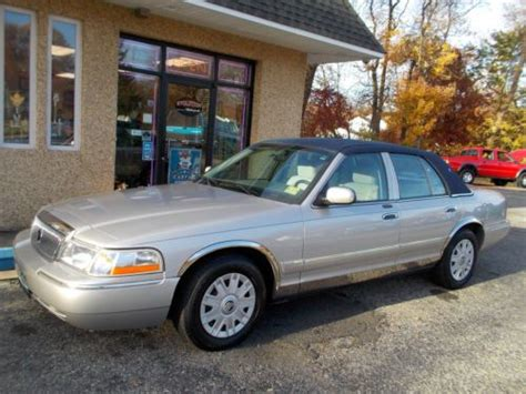 auto air conditioning service 2005 mercury grand marquis electronic toll collection find used 2005 mercury grand marquis gs sedan 4 door 4 6l in bordentown new jersey united states