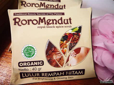 Lulur Rempah Hiram Roro Mendut sneak peek roro mendut traditional skin care silver