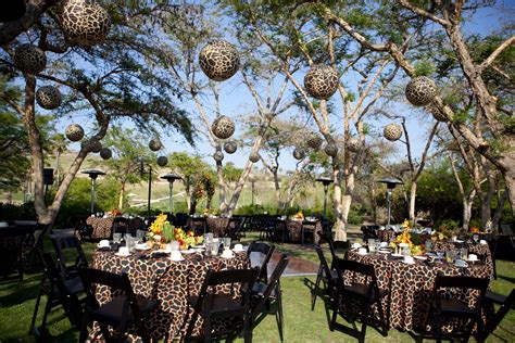 animal print lanterns are a way to add decor to any wedding event check out one of our