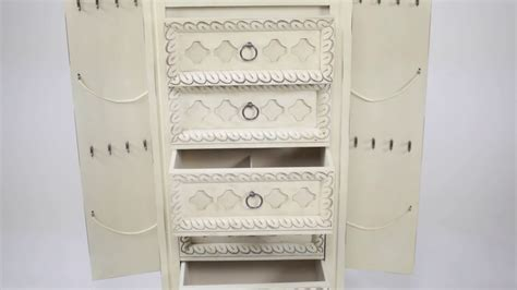 abby jewelry armoire abby jewelry armoire by hives and honey youtube