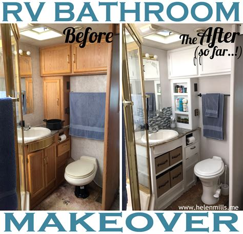 rv bathroom remodeling ideas what happened next rv renovation the bathroom edition