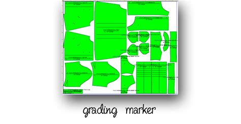 pattern grading marker creations for professionals fashion design pattern