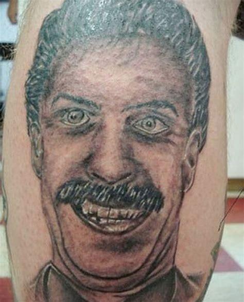 elvis tattoo fail 17 awful portrait tattoo fails ballerina girl guff