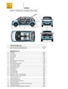 Renault Twingo Dimensions Nuova Renault Twingo 2015 Scheda Tecnica