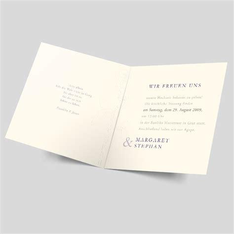 Einladungskarten Hochzeit Schlicht by Hochzeitseinladung Namhaft