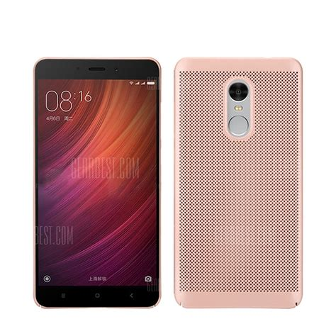 Xiaomi Redmi 4x 4 X Ultrathin Pc Frosted Matte Hardcase Slim Heat Dissipation Thin Frosted Back Cover Solid Color